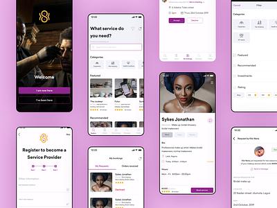 Seaka mobile app skill ui design dailyui mobile app mobile app design