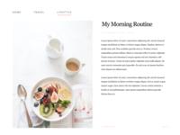 Daily UI #035 Blog Post