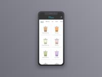 Daily UI #043 Food/drink Menu