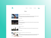 Daily UI #051 Press Page