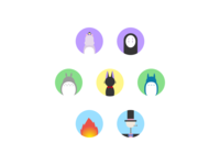 Daily UI #55 Icon Set