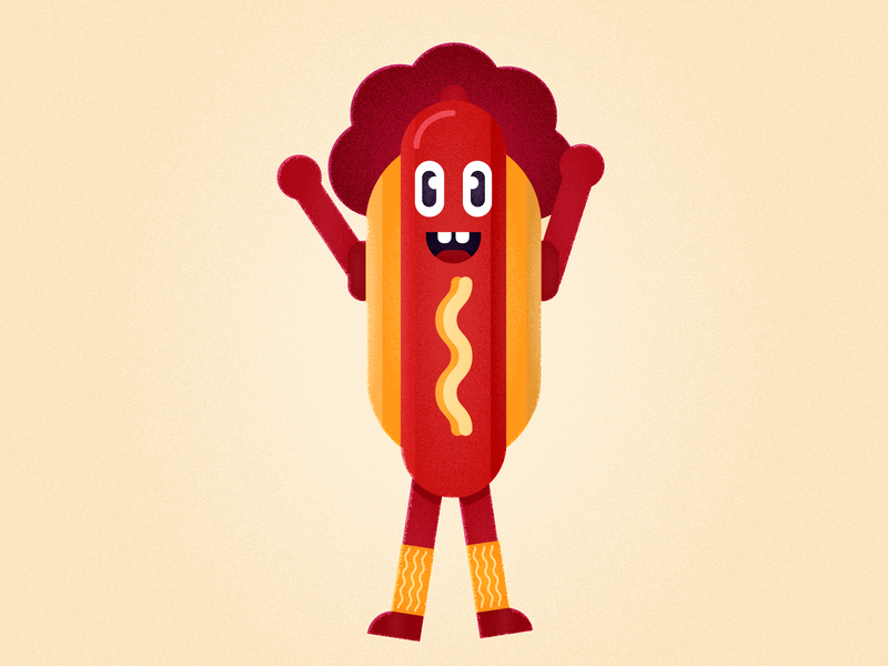 HotDog Character Design