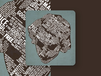 Joker Typography Fan Art