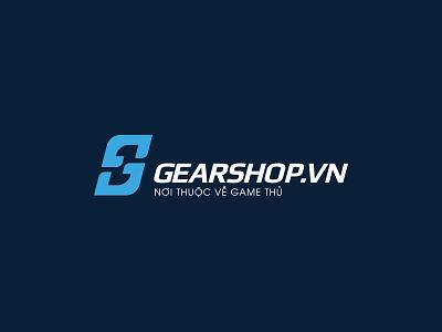 Gearshop.Vn Logo Design brand design design g letter g logo gearshop.vn logo process logo logodesign branding brand logo