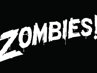 Zombies illustration vector type