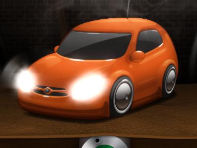 Beep Beep illustration vector psd car ae