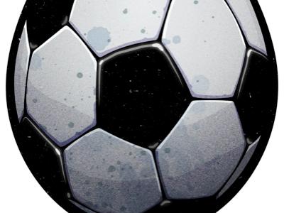 Ball illustration vector psd soccer ball football