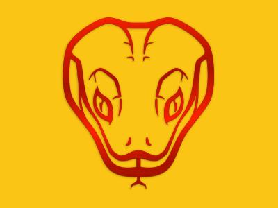 Year of the Snake illustration vector snake