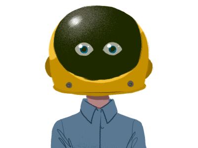 Astro Not illustration digital paint
