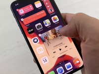 Resize iOS widget ios14 iphone widget ios widgets new ios interaction ios 14