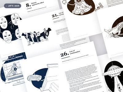 30La.ws Book typography illustration cover book