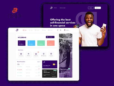 Regent Microfinance Bank financial uxui ux app ui design ui figma web finance fintech
