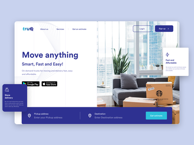 On-demand Delivery Service delivery app deliver shipping ondemand uiux product app ui design