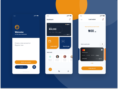 Easypay solution ux adobe xd design figma product app ui design payment app