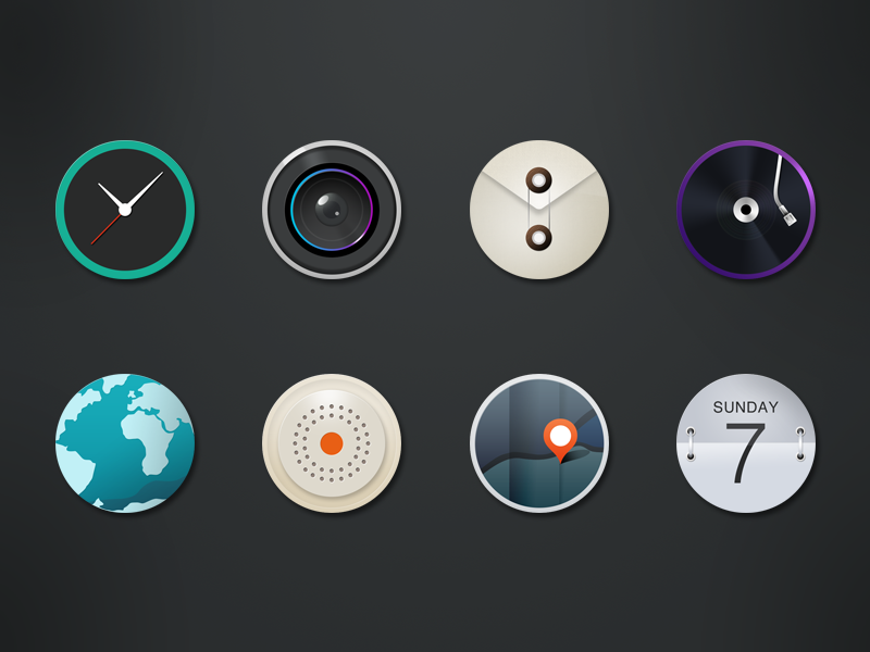 Xperia os icons ui ux os app icons sony