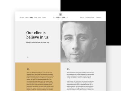 Truffleberry Testimonials Webpage