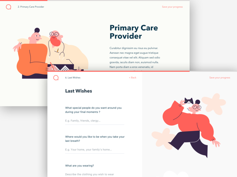 Web Forms in a Wizard simple simplicity app ui artwork illustration site page web branding webpage character character design forms input fields wizard step by step application web design webdesign