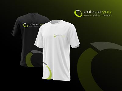 unique you – Logo training healthy fitness design web corporate identity brand logo visual identity brand identity branding