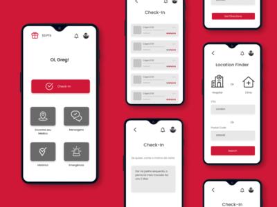 Check-in app for Brazilian hospitals