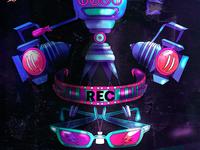 Detalle del cartel de REC
