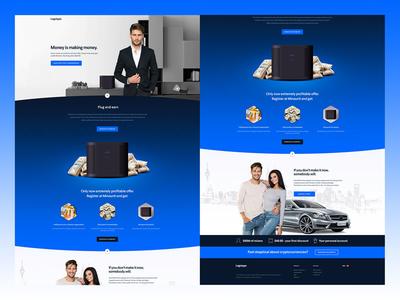 Plug & Earn Landing Page