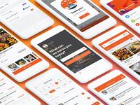 Food Mobile App Ui Kit