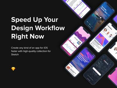 Origin Mobile Ui Kit For Iphone X
