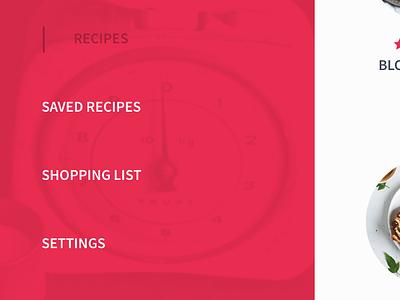 Recipes App UI Kit Freebie  ios flat clean minimal app ux-design ui-design sketch free freebie ui-kit