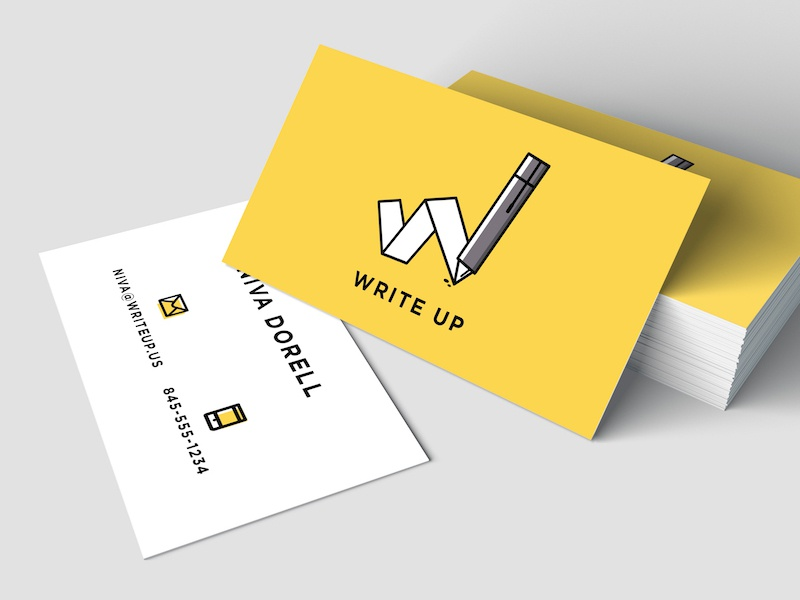 Write Up Brand Identity by Alecia Eberhardt-Smith for Eberhardt