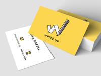 Write Up Brand Identity