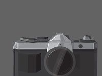 Grayscale Camera Illustration
