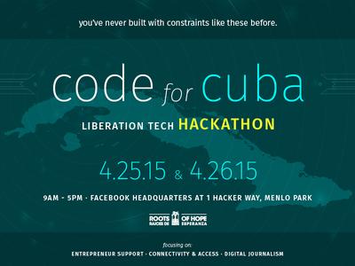 Code for Cuba – Liberation Tech Hackathon
