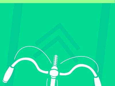 Bike Ride! green vector parks public space biking bike activism emerge miami