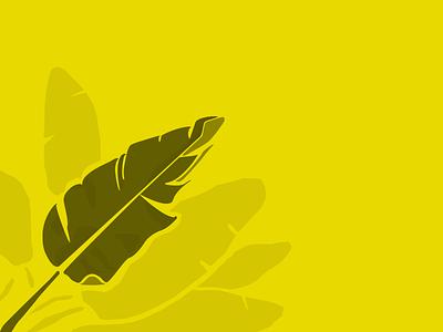 Bird of Paradise Tree vector south florida 100 day project yellow bird of paradise tree leaves