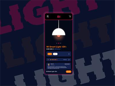 Light UI minimal mockup phone mi website icon ui color branding art logo design