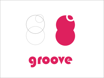 Groove Logo branding logo design groove