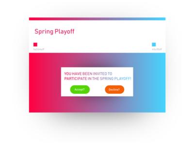 Spring Playoff
