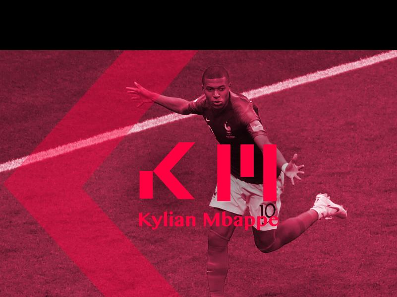 Kylian Mbappe Rebrand By Leroy On Dribbble