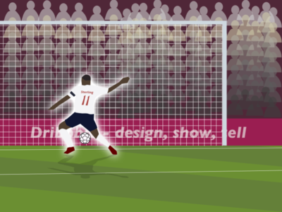 Golazoo wembley soccer app goal sterling raheem soccer england app ui website icon color branding art logo design