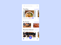 Foodly App Concept