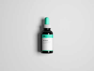 Tea Tree Oil Mockup
