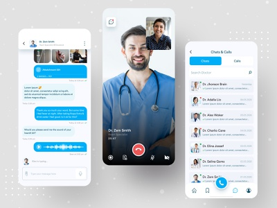 Live Consulting | Medihelp live chat consulting medical app medihelp anupdeb ui ux coronavirus typography creative minimalistic minimal app apps chat mobile app videocall messenger doctor app