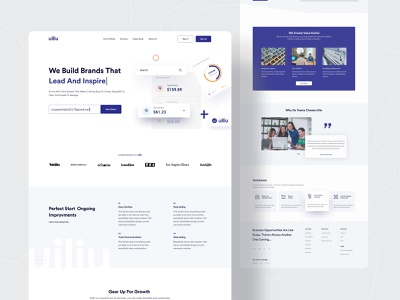 Minimal Landing Page Designs Themes Templates And Downloadable Graphic Elements On Dribbble