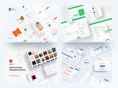 2020 Case Studies ui ux anupdeb typography minimal designs creative case studies casestudy 2020 design food app recipe mobileapp website design web app web design