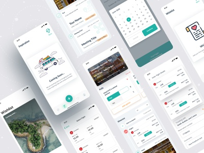 Escapist || Group Travel App Live minimal live app minimal app design development mobile application mobile app design live app design live app travel agency traveling app simple app ui ux travelling group travel app travel app traveling mobile app mobile