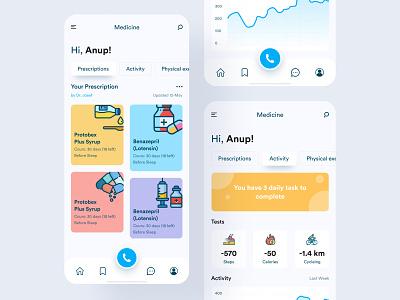 Medihelp || Medicine medical care medical app medical mobile app design grapeslabteam grapeslab mobile app medihelp creative product design mobile