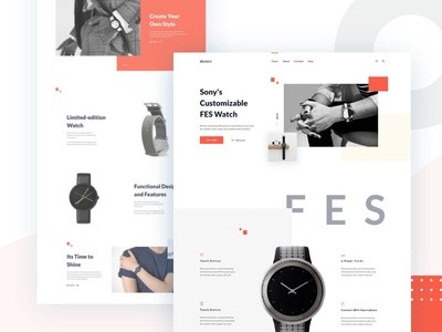 FES Watch Product UI