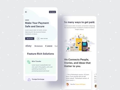 Paymentox Responsive Design