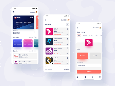 Expenses Manager App Concept app freelance ux ui creative expense tracker apple app design anupdeb mobile design mobile ui expense manager expenses bank mobile app design mobile app mobile