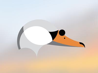 Swan simple study logo minimalism swan animal
